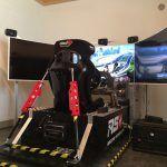 Racing Simulator - vue arrière